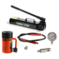 Eagle Pro ESS-506 50-Ton 6.26-In. Stroke Single Acting Hydraulic Pump and Cylinder Set, 50-ton ram set, Eagle Pro ESS set, EPA-12321A pump, ES-506 cylinder, Hanover Tool, HanoverTool.com