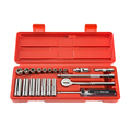 TEKTON MIT-11501 22-pc. 1/4 in. Drive Socket Set (Metric) from Hanover Tool