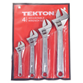 TEKTON MIT-2291 4-pc. Adjustable Wrench Set from Hanover Tool