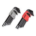 TEKTON MIT-25252 26-pc. Long Arm Hex Key Wrench Set (Inch/Metric) from Hanover Tool