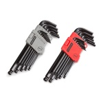 TEKTON MIT-25282 26-pc. Long Arm Ball Hex Key Wrench Set (Inch/Metric) from Hanover Tool
