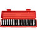 TEKTON MIT-4879 1/2 in. Drive Deep Impact Socket Set (3/8 in.-1-1/4 in.) 12 pt. Cr-V from Hanover Tool