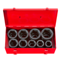TEKTON MIT-4892 1 in. Drive Deep Impact Socket Set (1 - 2 in.) Cr-Mo from Hanover Tool