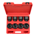 TEKTON MIT-4893 3/4 in. Drive Shallow Impact Socket Set (2-1/16-2-1/2 in.) from Hanover Tool