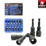 Ridgerock Neiko-10250A 12-pc. Magnetic Nut Setter Master Set (1/2 - 9/16 in.) from Hanover Tool