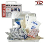 Ridgerock Tooluxe-51107L 25 Person First Aid Kit-Plastic Box from Hanover Tool