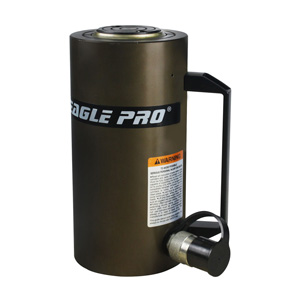 Eagle Pro EPI-ESA-556 50-Ton 6.14-in. Stroke Single Acting Lightweight Aluminum Ram Cylinder,  ESA Series, aluminum hydraulic cylinders, light weight cylinders, 50-ton aluminum cylinder,  single acting cylinder, Hanover Tool, HanoverTool.com