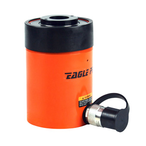 Eagle Pro EPI-ESH-302 30-Ton 2.52-in. Stroke Hollow Center Single Acting Ram Cylinder, ESH Series, hydraulic cylinders, hollow ram cylinders,30-ton ram, single acting cylinder, Hanover Tool, HanoverTool.com