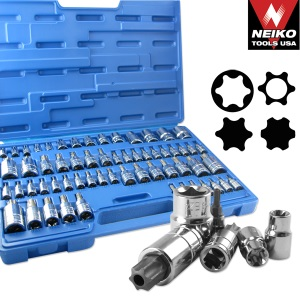 Ridgerock Neiko-10083A 60-pc. Master Star Socket Set from Hanover Tool